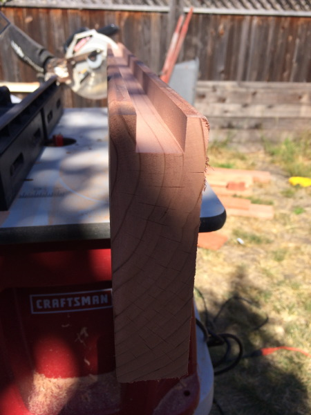 Craftsman router for craftsman gate