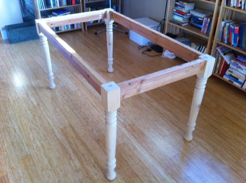 diy building a farmhouse table and bench shirley chris