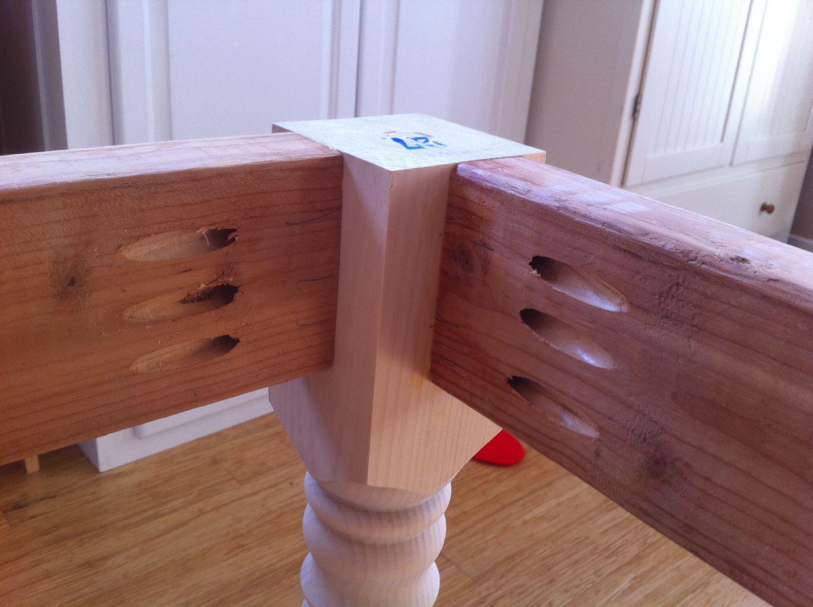 DIY – Building a Farmhouse Table and Bench – Shirley & Chris ...