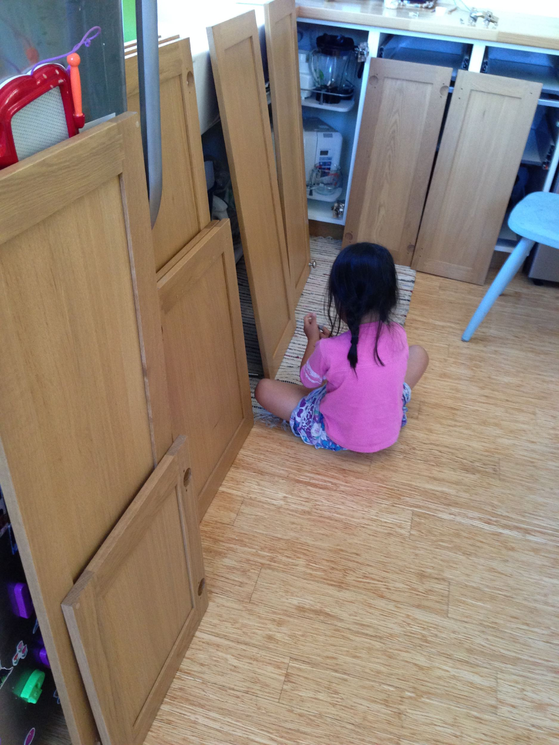 How We Painted Our Ikea Kitchen Cabinets Shirley Chris Projects Blog