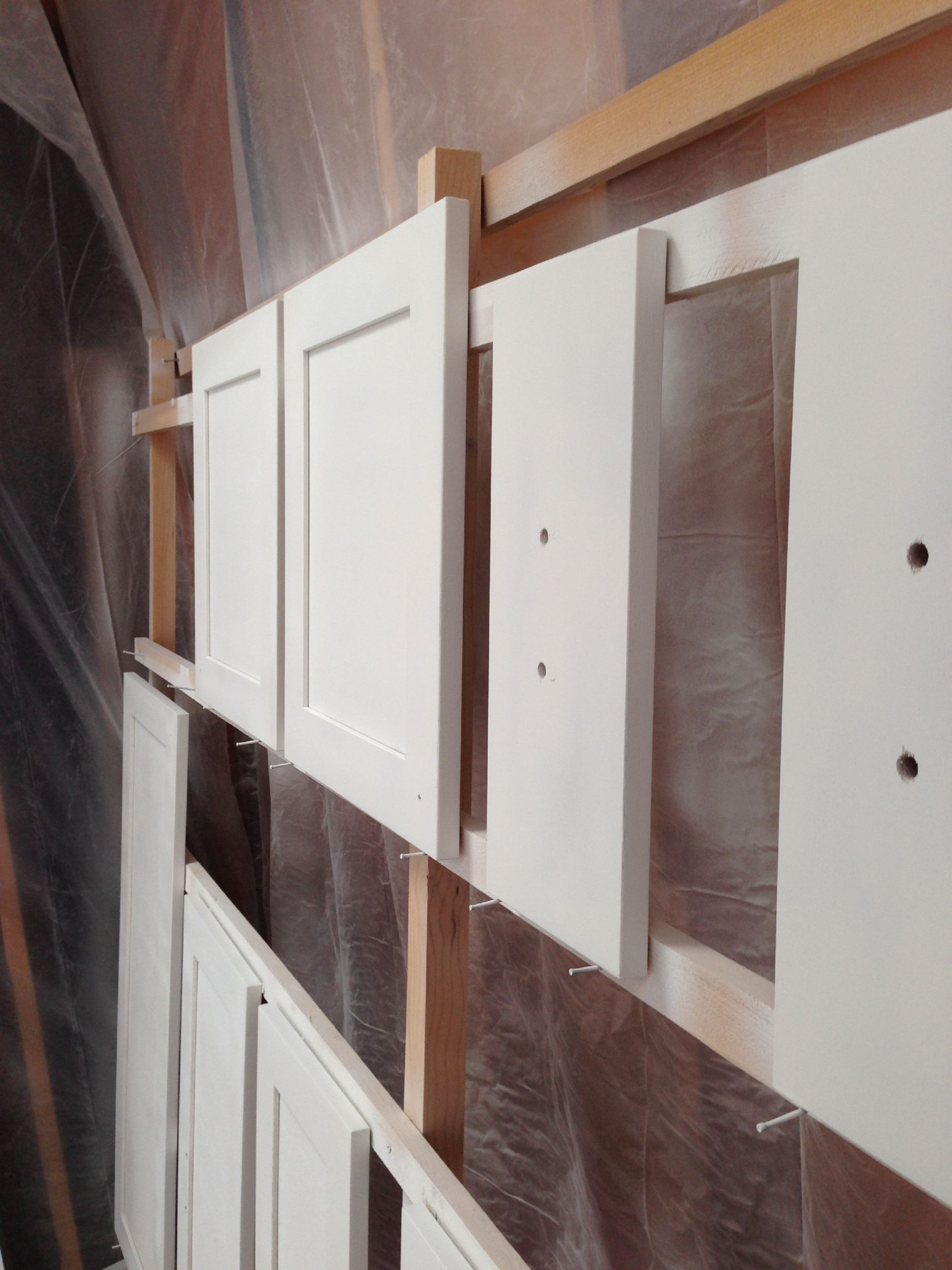 How We Painted Our IKEA Kitchen Cabinets – Shirley & Chris projects blog