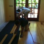 New House: Installing Bamboo Flooring