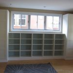 DIY: Built-ins using IKEA Besta shelves and Pax wardrobes